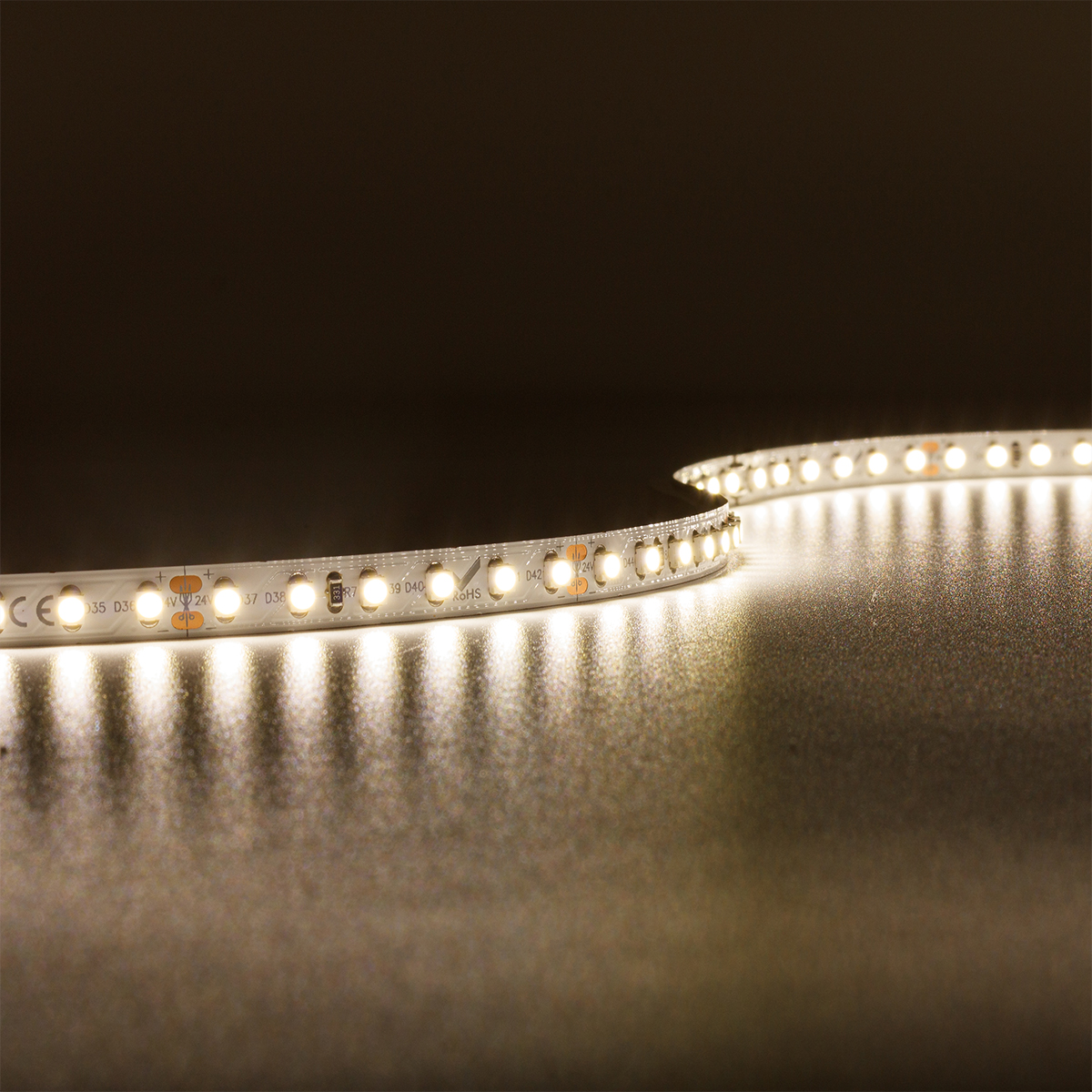 Strip Neutralweiß 24V LED Streifen 5M 9,6W/m 120LED/m 8mm IP20 4000K