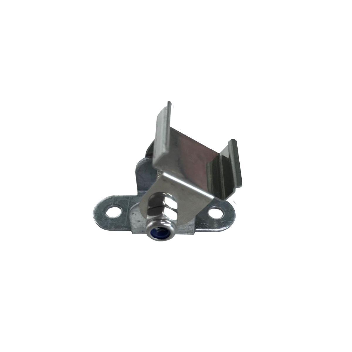 Montageclip 2 Stück schwenkbar für für Aufbau U-Profil 17x14mm (4276)