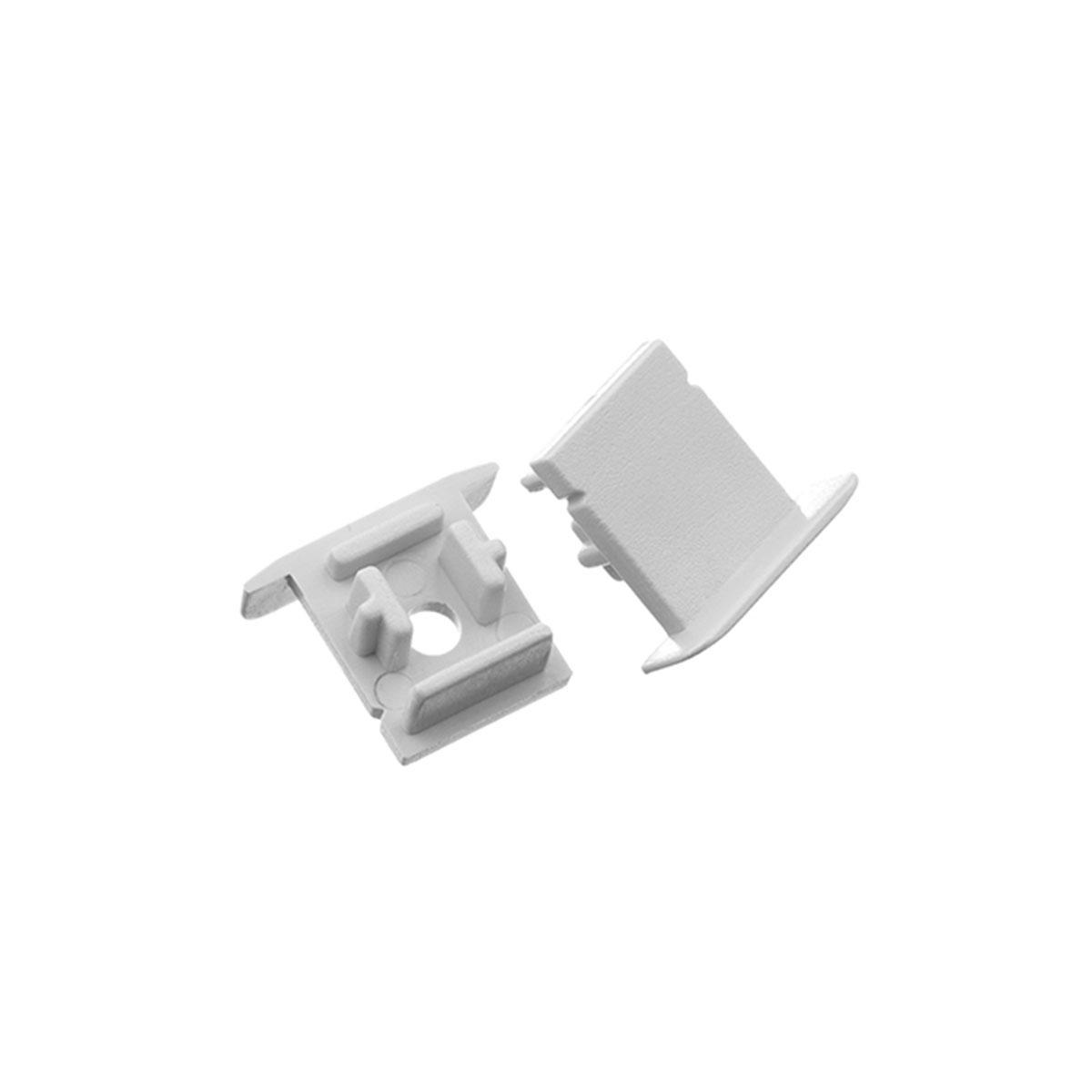 1 Paar Endkappen für Fugen-Profil 18 x 15mm (4300)