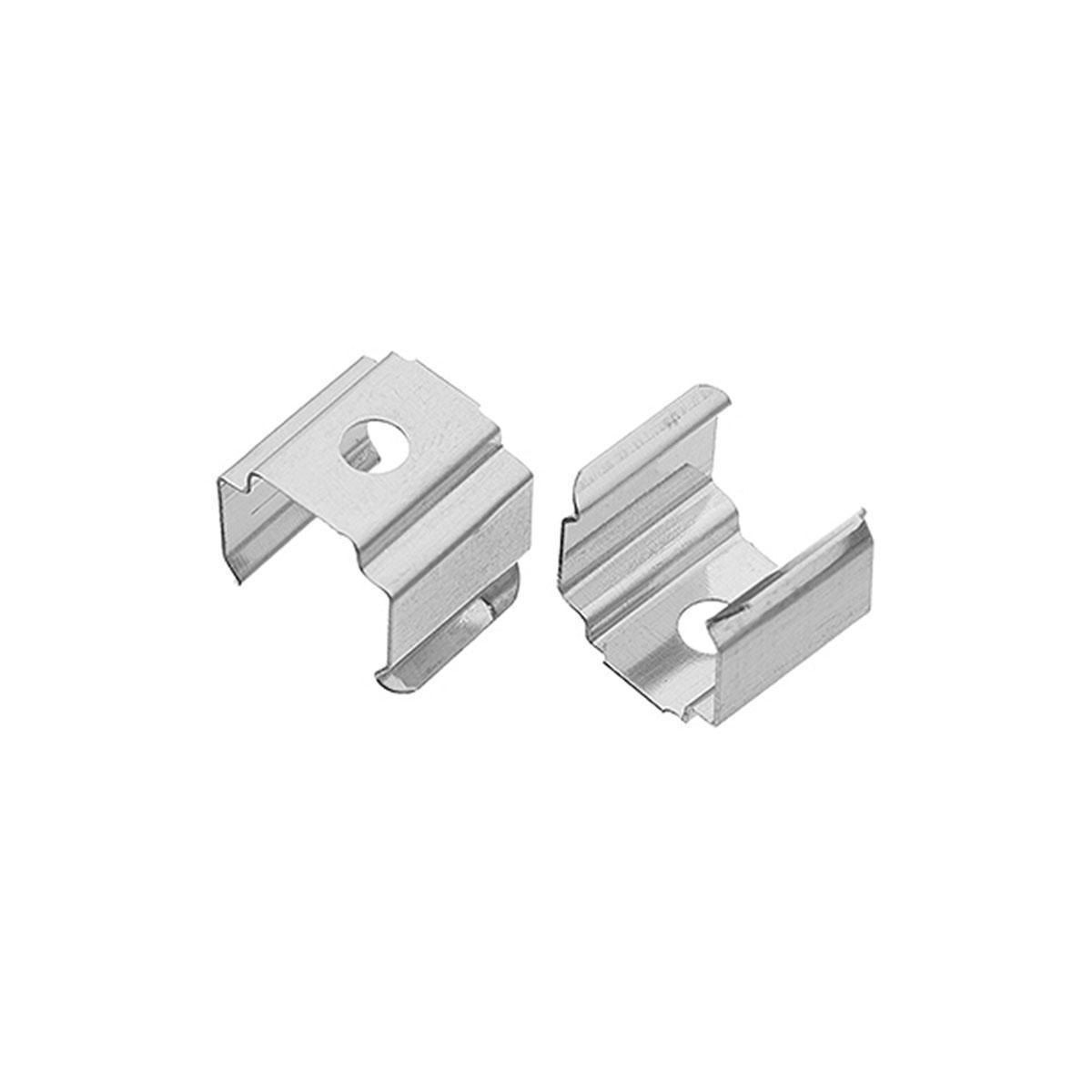 1 Paar Montageclips Halter für Aufbau U-Profil  14 x 7mm (4283)