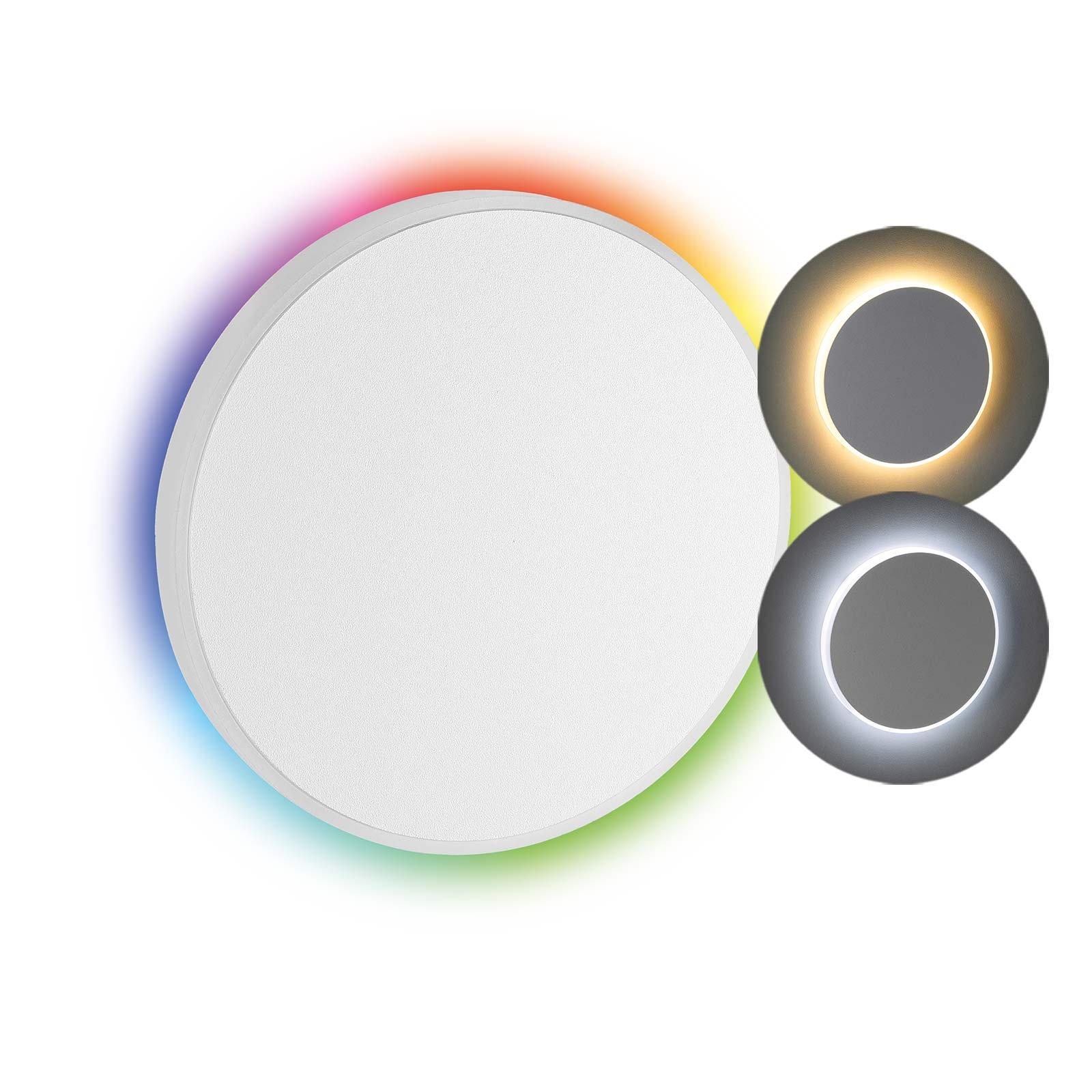 LED Stufenbeleuchtung Oberteil rund, weiß | Seitlicher Lichtaustritt