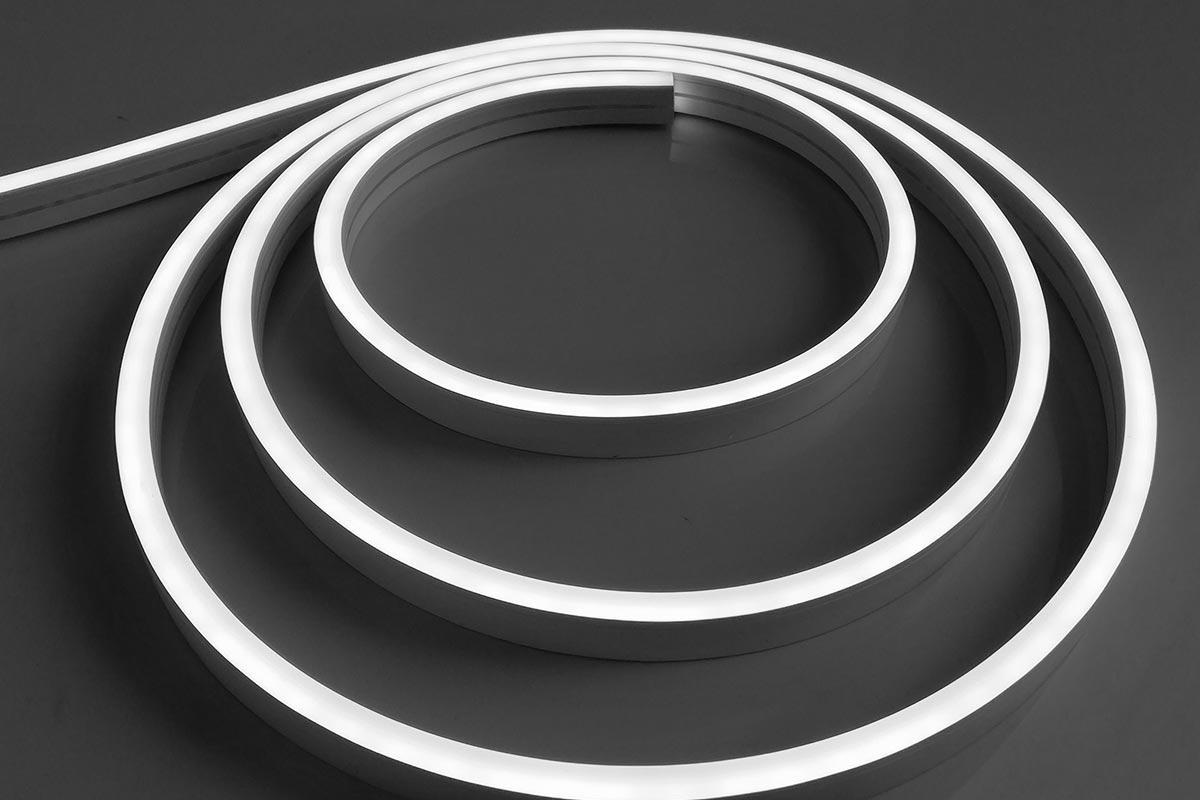Neon Mini Neutralweiß 24V LED Streifen 5M 12W/m 120LED/m 6mm IP66 4000K