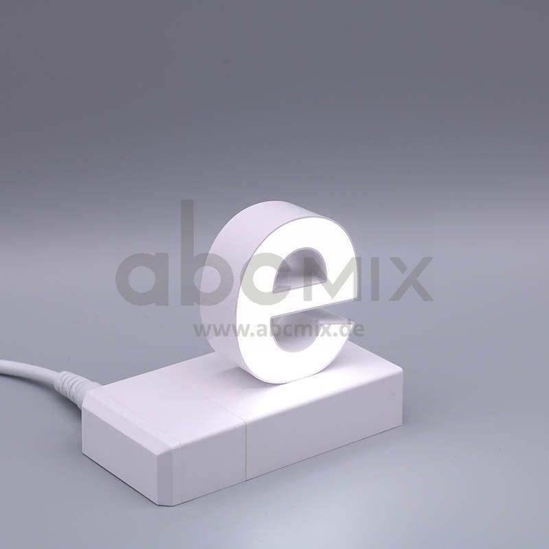 LED Buchstabe Klick e für 75mm Arial 6500K weiß