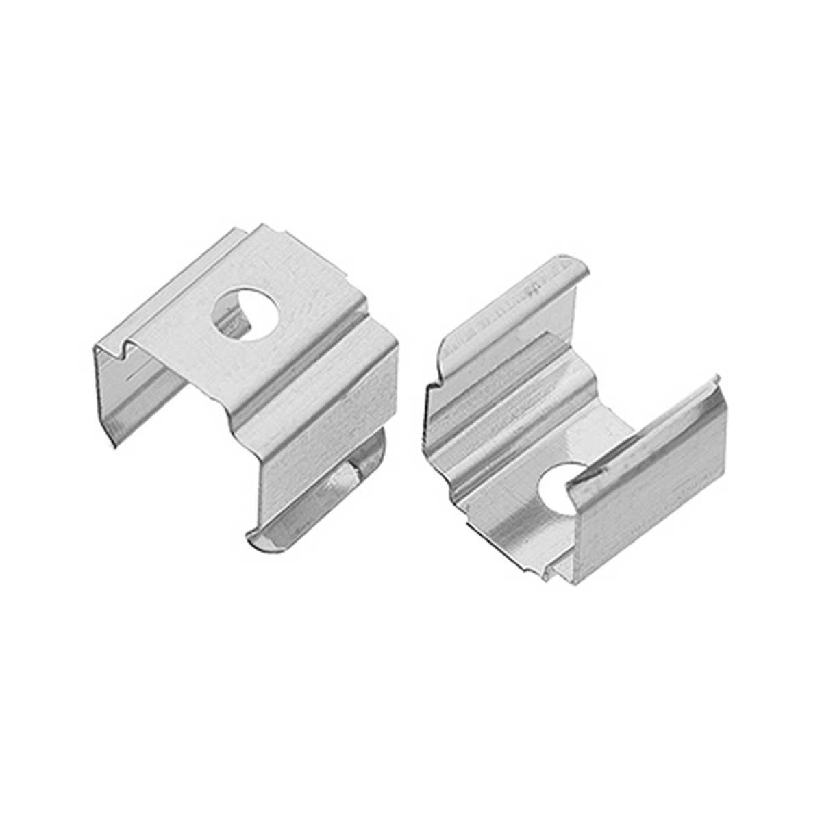 1 Paar Montageclips Halter für Aufbau U-Profil  14 x 15mm (4294)
