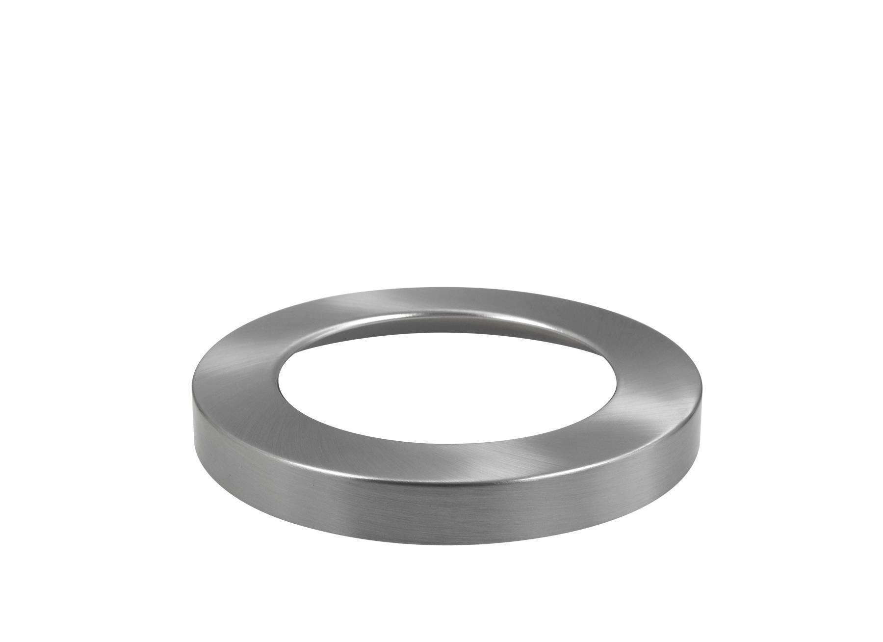 Abdeckring silber für Ein-Aufbaustrahler 24W Ø294mm