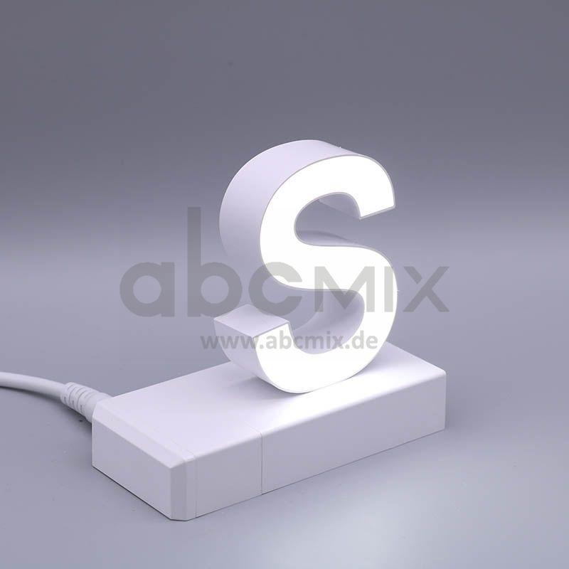 LED Buchstabe Klick S 75mm Arial 6500K weiß