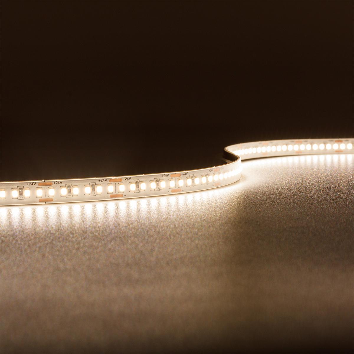 Strip Neutralweiß 24V CRI90 LED Streifen 5M 12W/m 240LED/m 8mm IP65 4000K