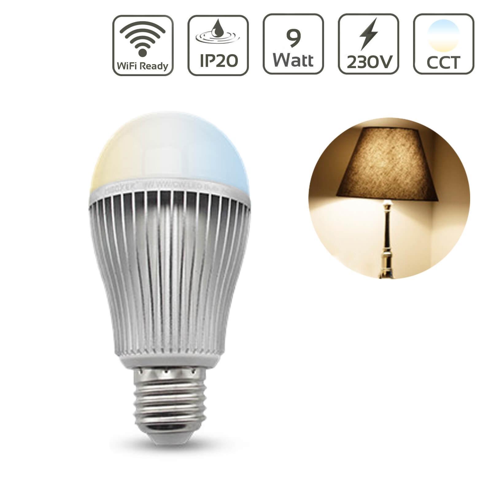 MiBoxer LED Lampe 9W E27 | DUAL WHITE | FUT019