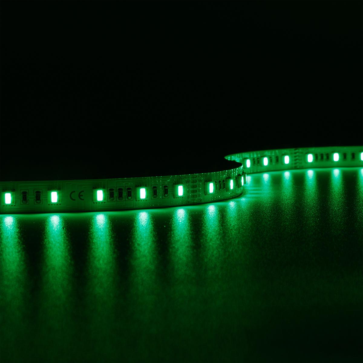 Strip RGB+CCT Dual Weiß 24V LED Streifen 5M 18W/m 60LED/m 12mm IP20 Farbwechsel RGB+2700-6000K