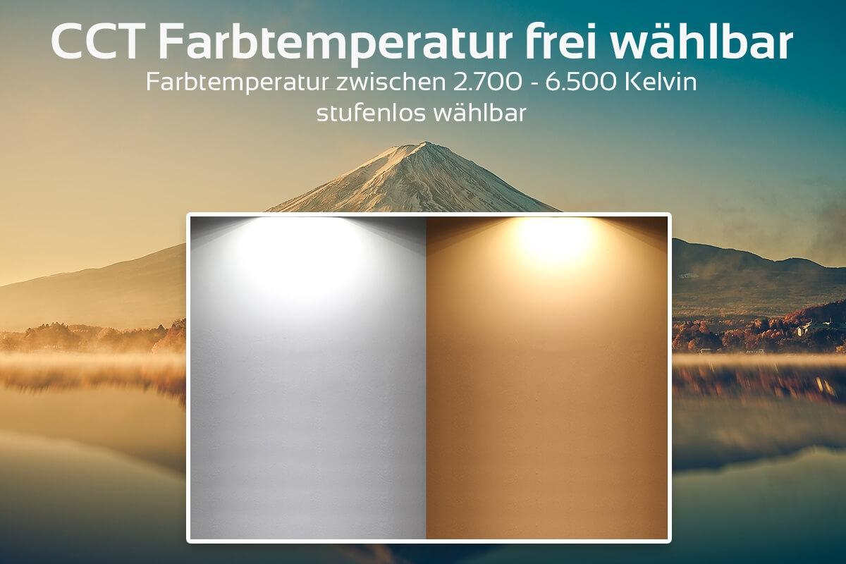 MiBoxer RGB+CCT Lampe  6W E27 | WiFi ready | FUT014