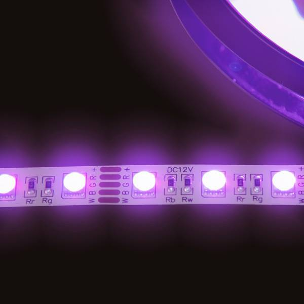 LED RGBW Strip SMD5050 4000K DC12V 14,4W/m IP20 60LED/m 5 Meter