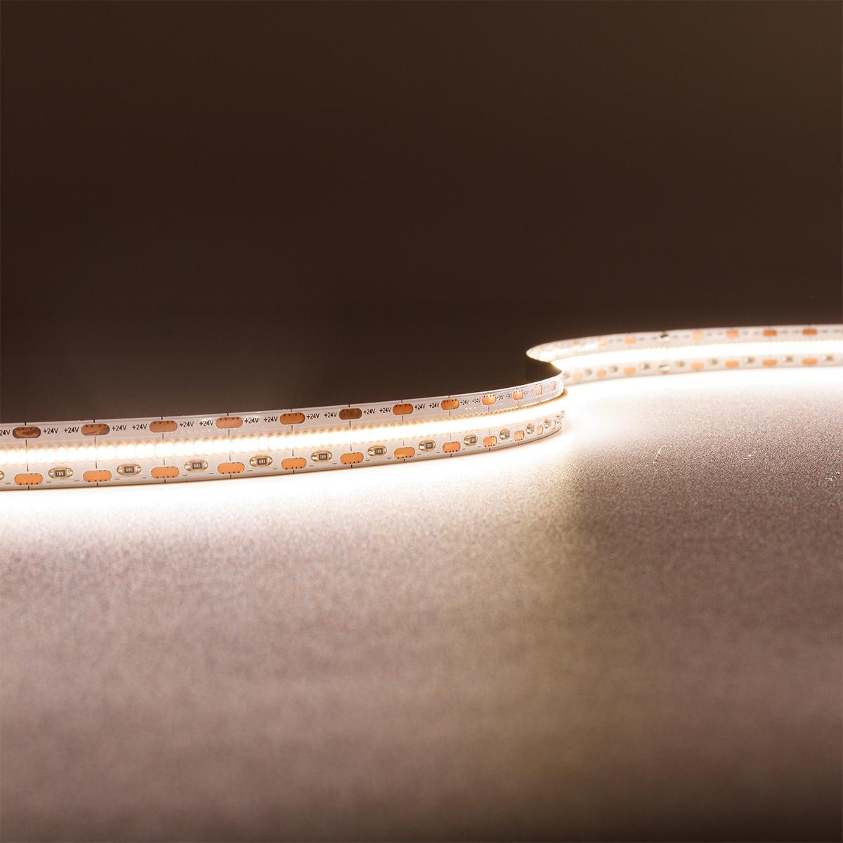 Strip Neutralweiß 24V CRI90 LED Streifen 5M 18W/m 700LED/m 10mm IP20 4000K