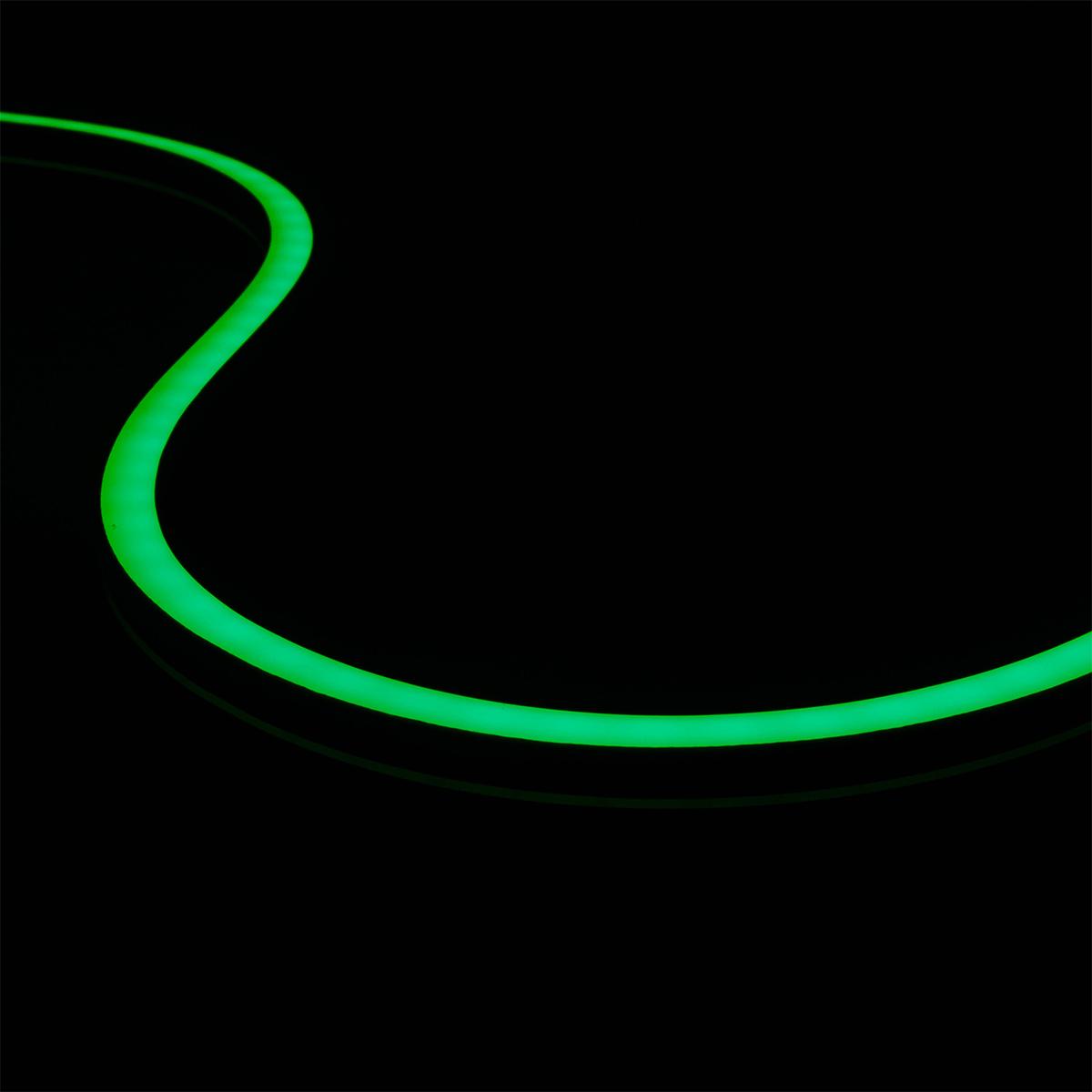 Neon Mini Grün 24V LED Streifen 5M 12W/m 120LED/m 6mm IP66