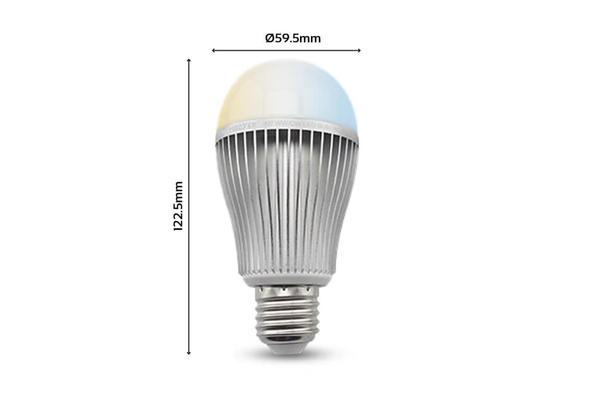 MiBoxer LED Lampe 9W E27   DUAL WHITE   FUT019