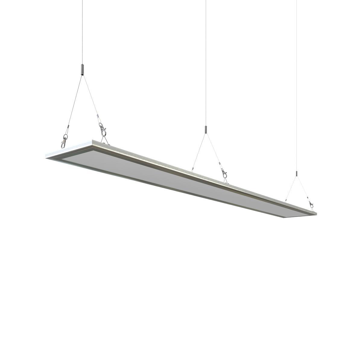 LED Panel Y-Seilabhängung 2x1Meter Aufhängung Seilsystem Montageset für Decke