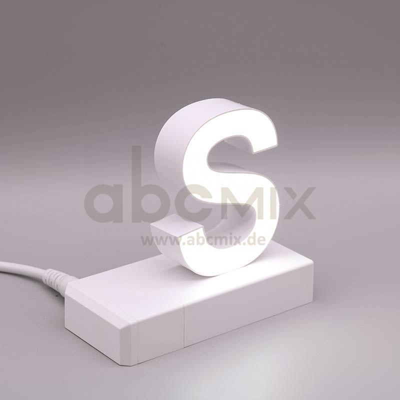 Leuchtbuchstabe EasyClick S 75mm Arial 4000K weiß