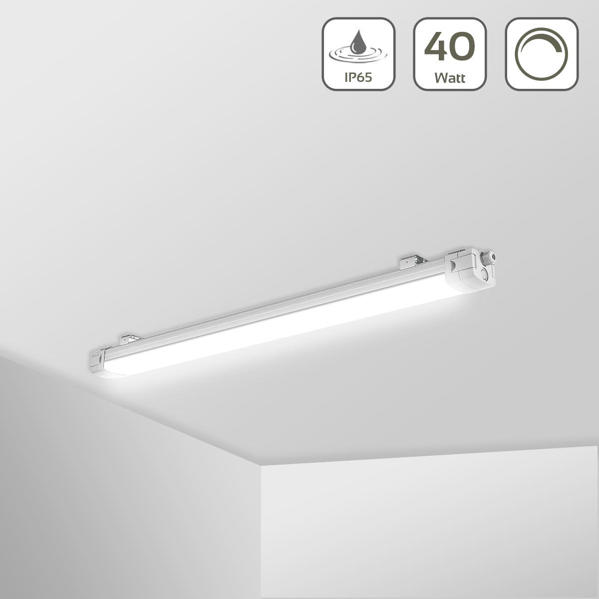 LED Feuchtraumleuchte PRO+ 40W 4000K 1-10V dimmbar