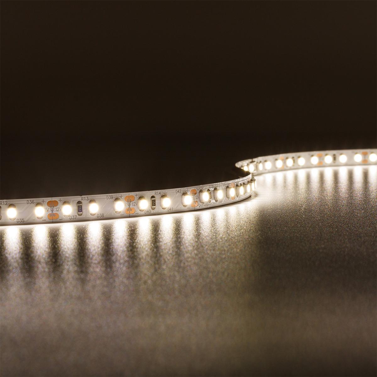 Strip Neutralweiß 12V LED Streifen 5M 9,6W/m 120LED/m 8mm IP20 4000K