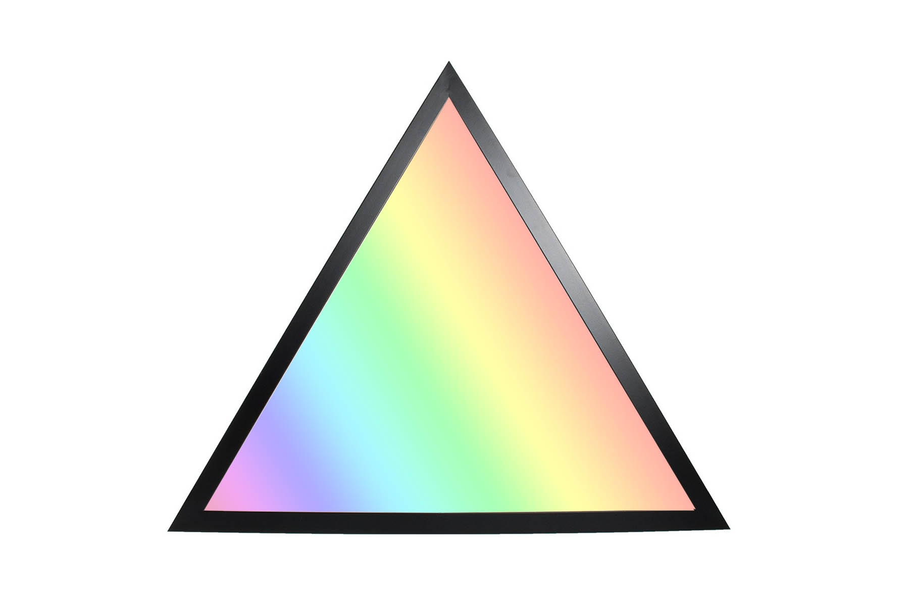 RGB+CCT LED Panel Dreieck 30cm 9W 24V