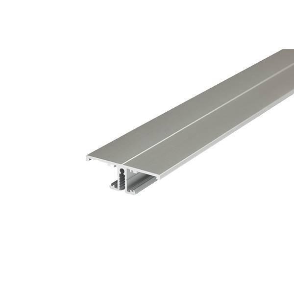 Alu T Wand-Profil eloxiert 40x13,5mm opal 200cm