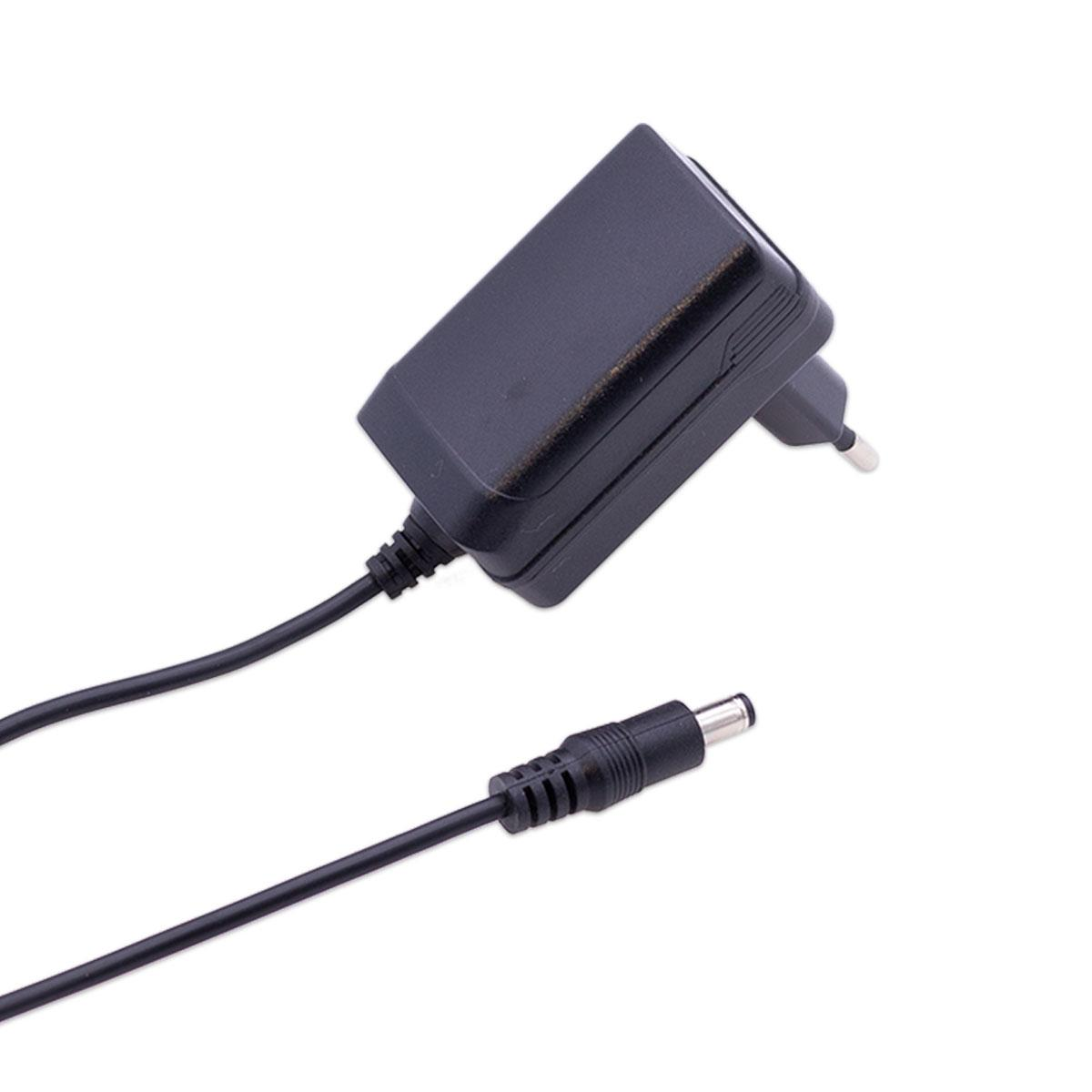 Steckernetzteil 12W 12V 1A Hohlstecker 5.5/2.1mm EU-Plug Festspannung