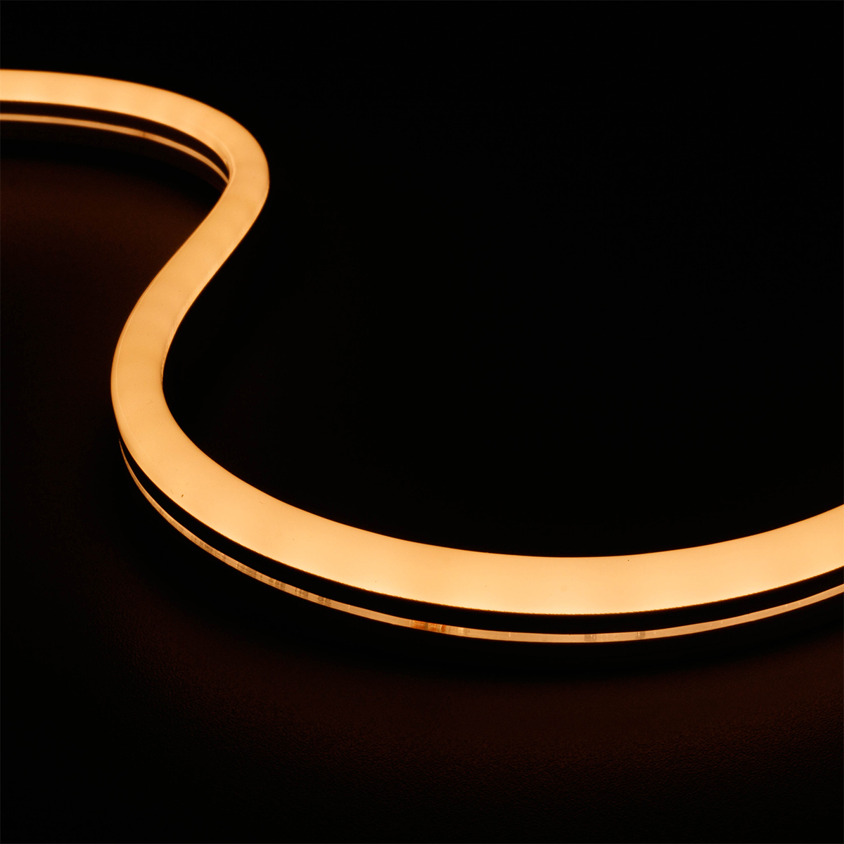Neon Warmweiß 24V LED Streifen 5M 10W/m 84LED/m 7mm IP65 3000K
