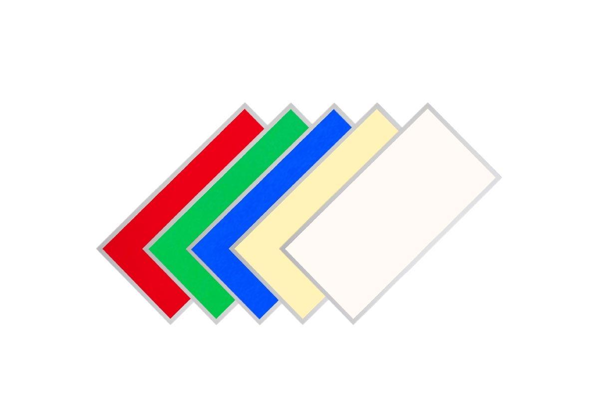 RGB+CCT LED Panel Pro 295x595mm 24W 24VRahmen weiß
