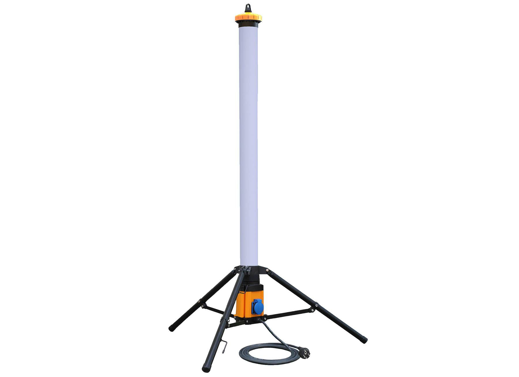 LED Säule 128cm 36W 360°Ausleuchtung IP54 3.600lm