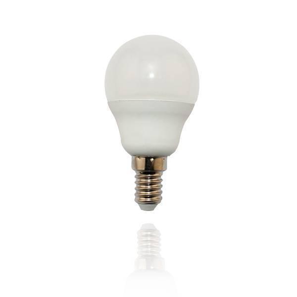 LED Lampe Tropfen E14 6W matt 2900K