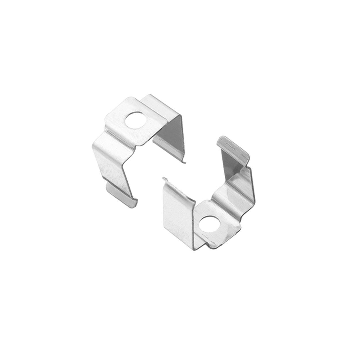 1 Paar Montageclips Halter für Fugen-Profil 20 x 15mm (4303)