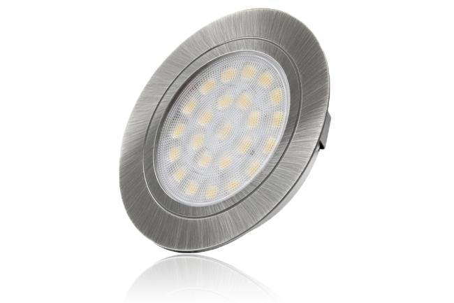 LED Spot 2W 12V 4000K 150lm IP20 Ø65x11mm Ausschnitt Ø58mm
