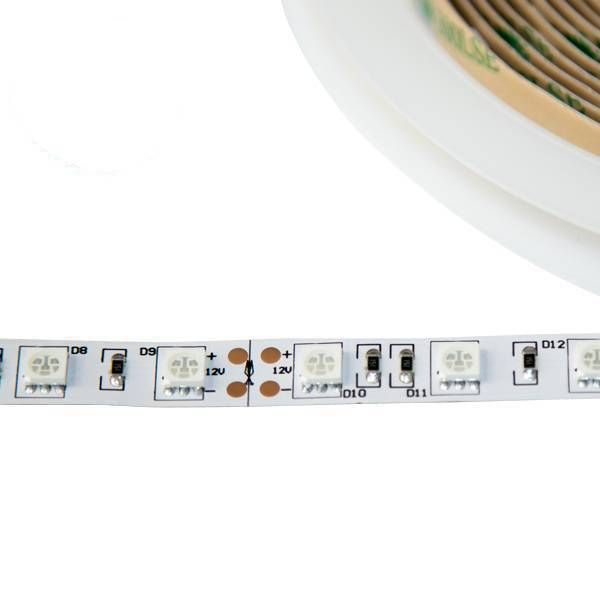 LED Strip SMD5050 grün DC12V 14,4W/m IP20 60 LED/m 5 Meter