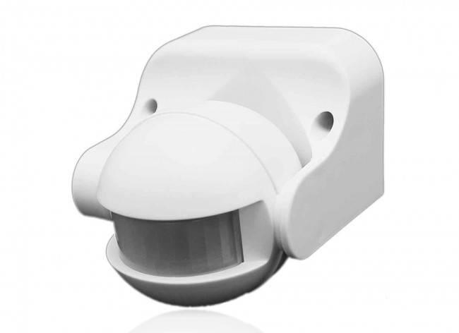 Infrarot-Bewegungsmelder 180°12m max 300W IP44