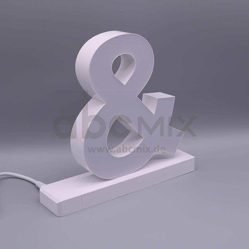 LED Buchstabe Click Kaufmännisches Und-Zeichen für 175mm