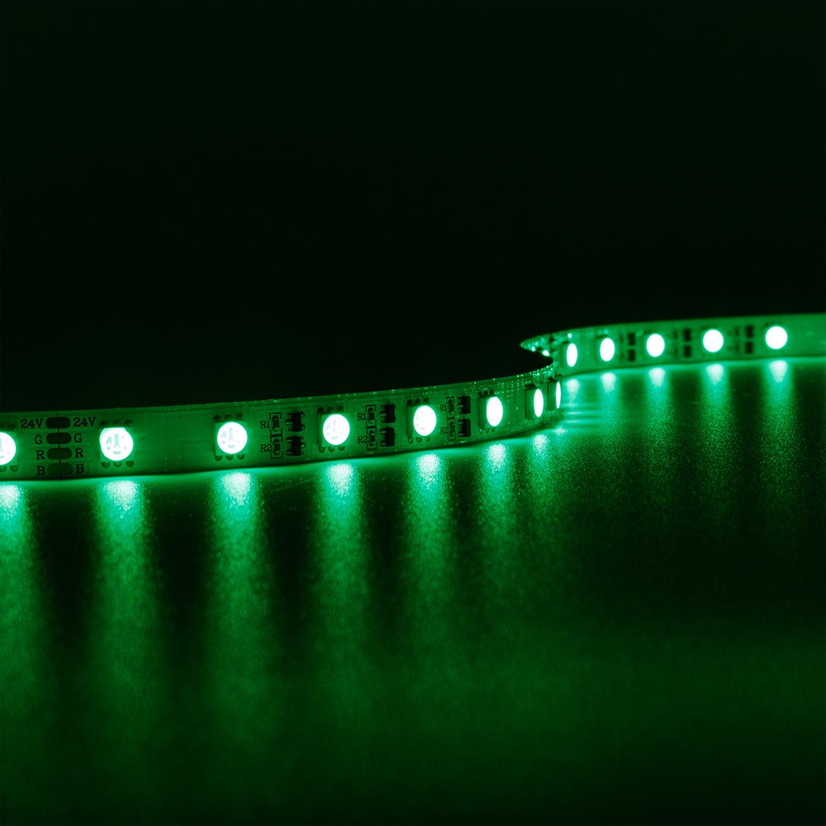 Strip RGB 24V LED Streifen 20M 8W/m 60LED/m IP20 Farbwechsel