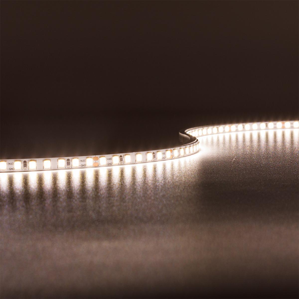 Strip Neutralweiß 24V CRI90 LED Streifen 5M 10W/m 140LED/m 5mm IP20 4000K
