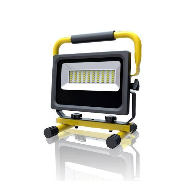 LED Baustrahler Fluter SLIM 30W 5500K