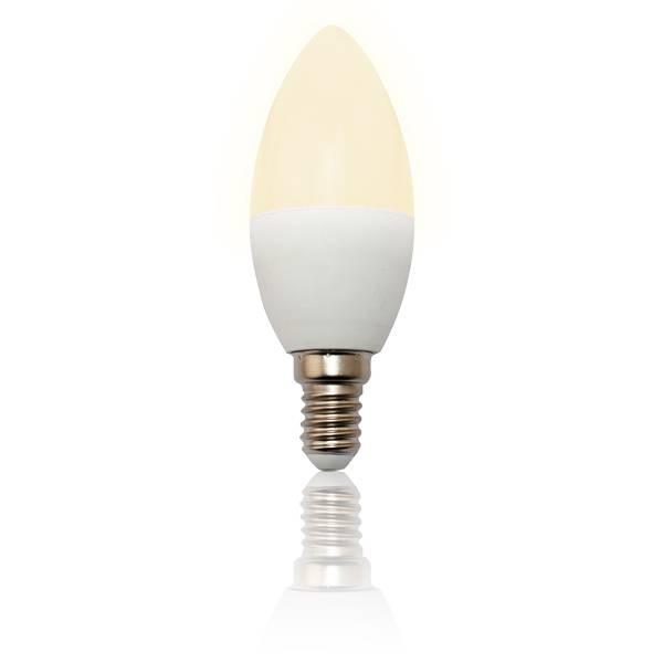 LED Lampe Kerze E14 6W matt 2900K