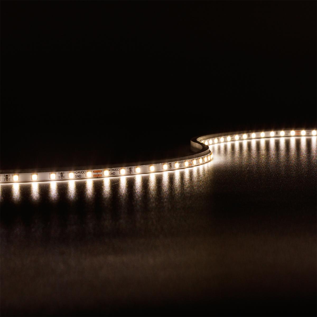 Strip Neutralweiß 24V CRI90 LED Streifen 5M 4W/m 140LED/m 3,5mm IP20 4000K