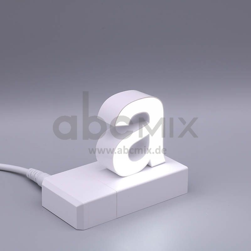 LED Buchstabe Klick a für 75mm Arial 6500K weiß