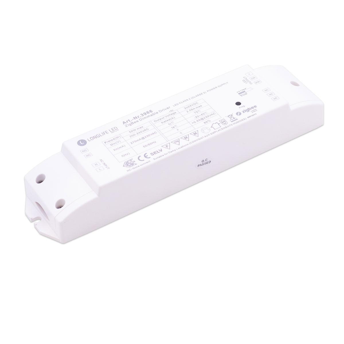 ATOS CCT LED Netzteil ZigBee 3.0 2-Kanal Controller 50W 24V 2.08A IP20