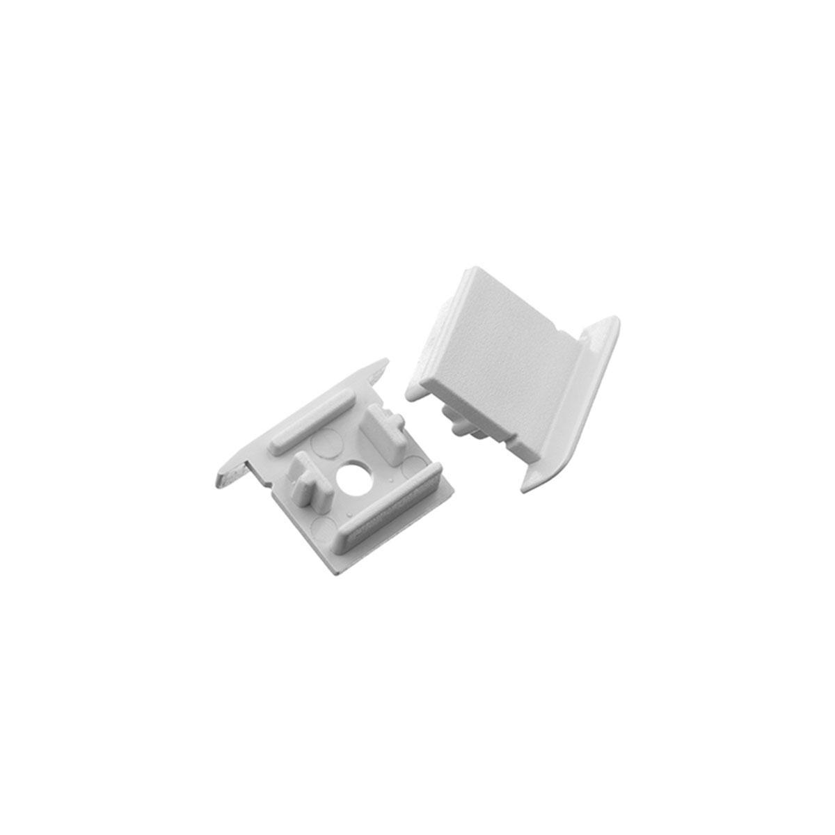 1 Paar Endkappen für Fugen-Profil 20 x 15mm (4303)