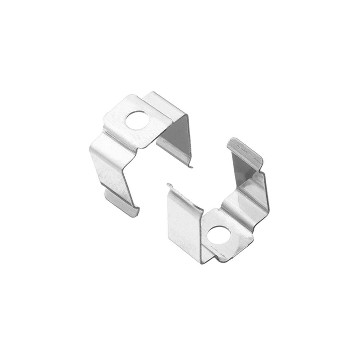 1 Paar Montageclips Halter für Fugen-Profil 18 x 15mm (4300)