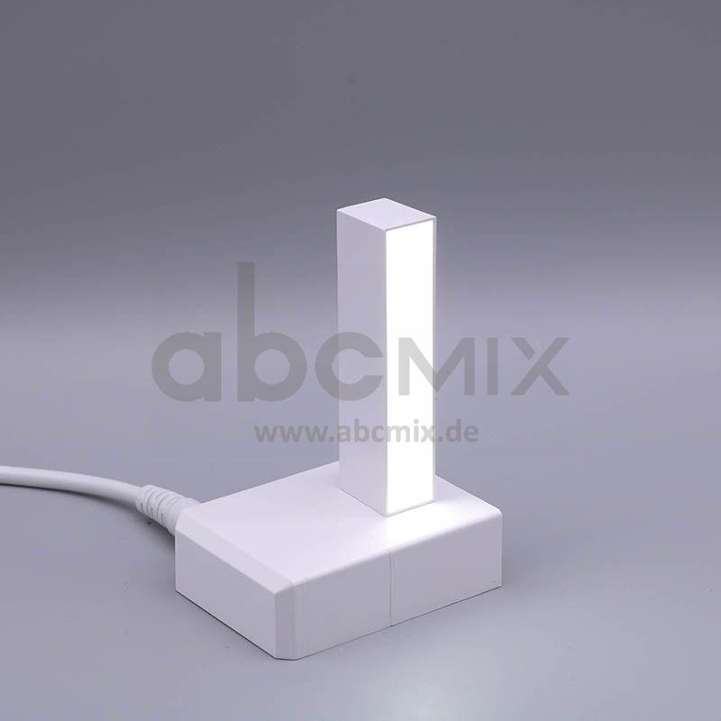 LED Buchstabe Klick I 75mm Arial 6500K weiß