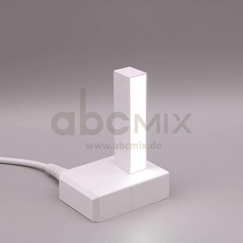 Leuchtbuchstabe EasyClick I 75mm Arial 4000K weiß