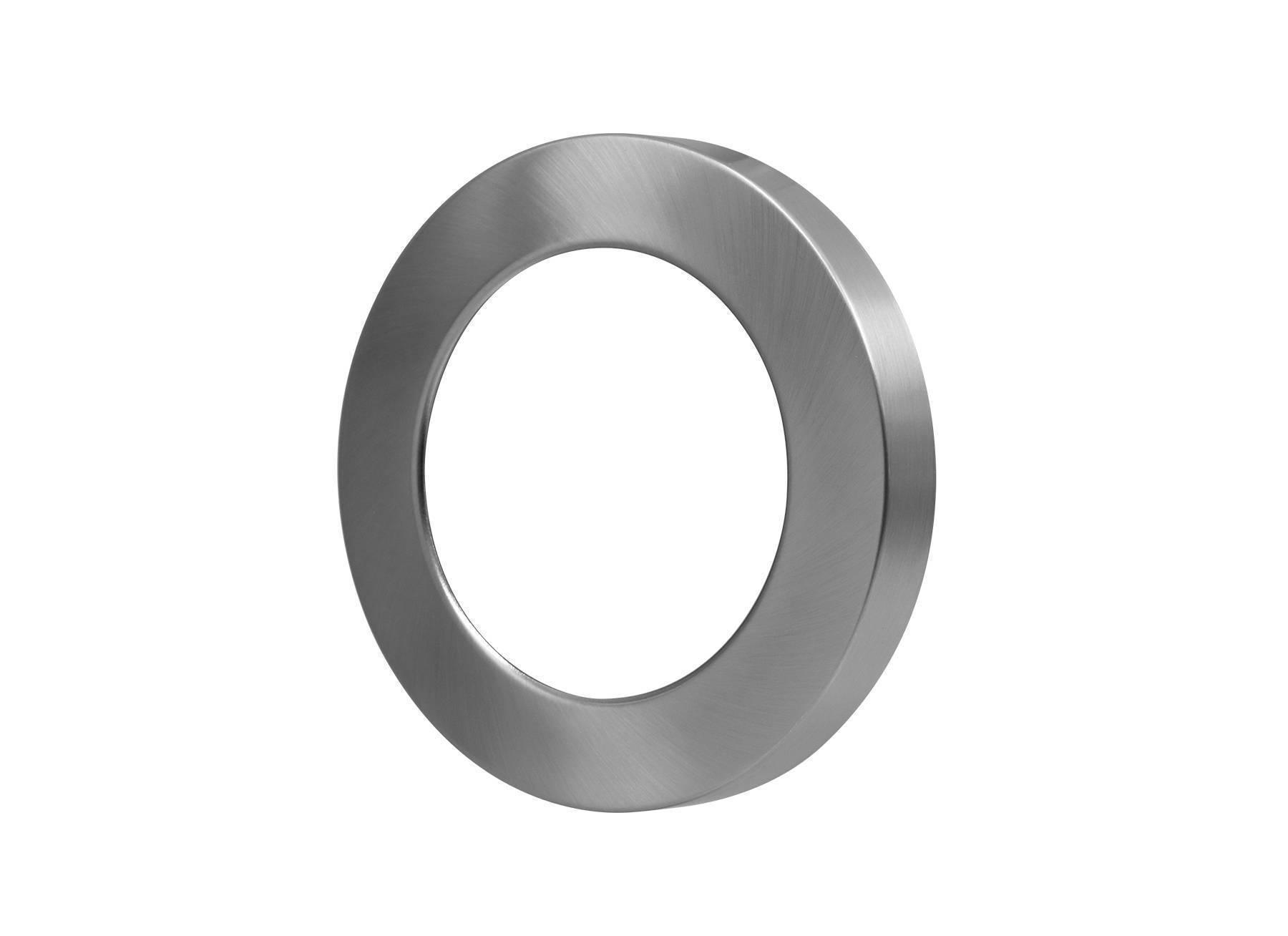 Abdeckring silber für Ein-Aufbaustrahler 18W Ø219mm
