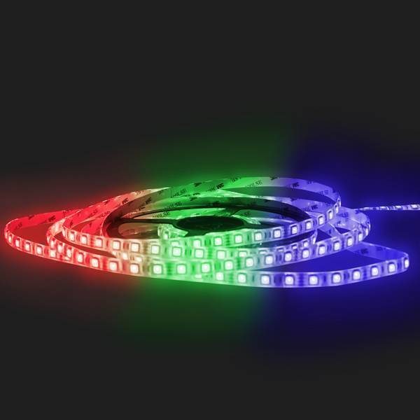 LED RGB Strip SMD5050 DC12V 14,4W/m IP65 60 LED/m 5 Meter