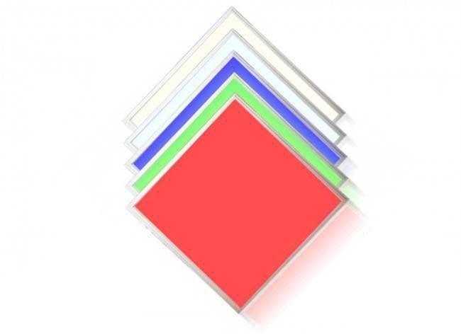 RGB+CCT LED Panel 62x62cm 44W 24V