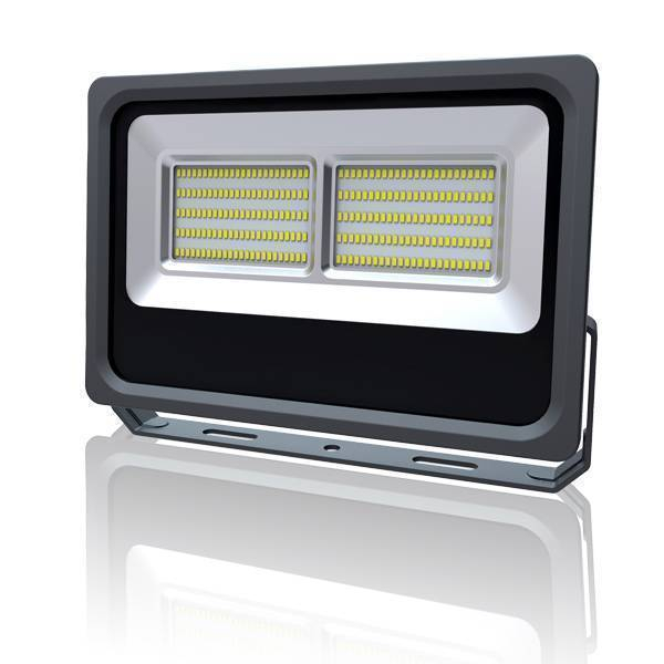 LED Außenstrahler Fluter Slim schwarz 150W 5500K