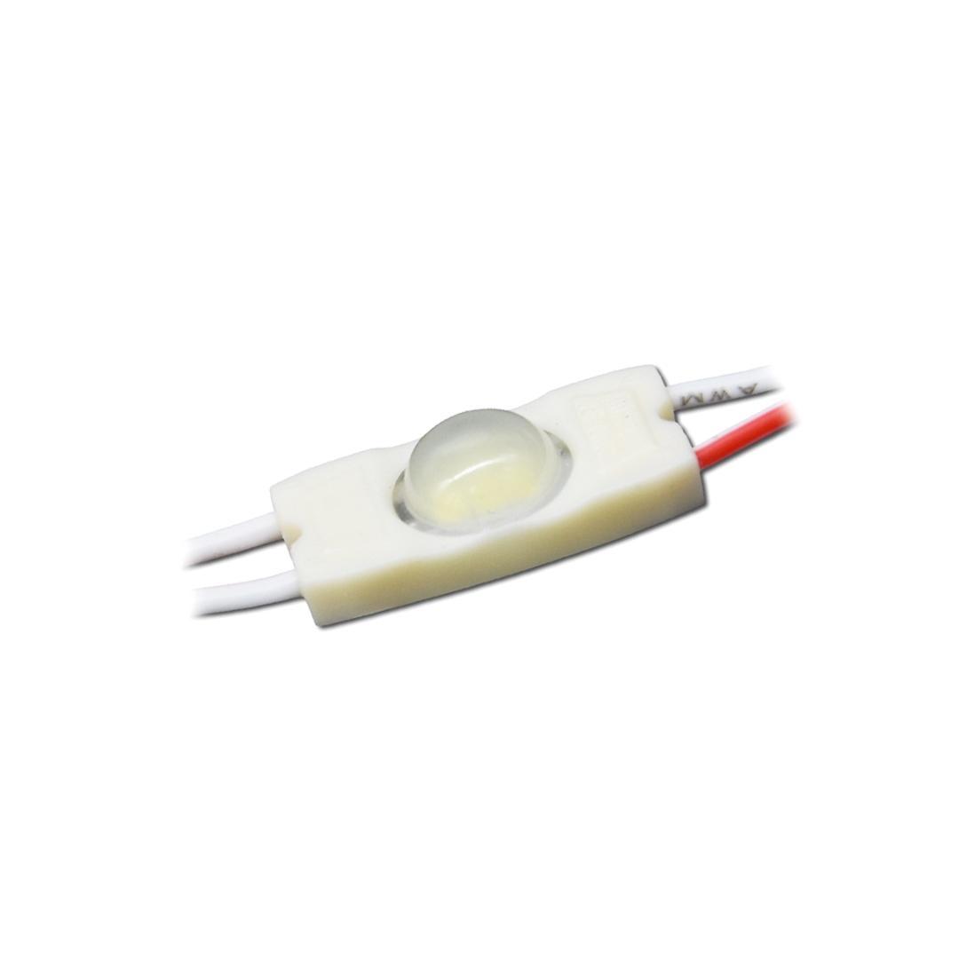 LED Mini Modul 0,3W 12V 4500K 160°
